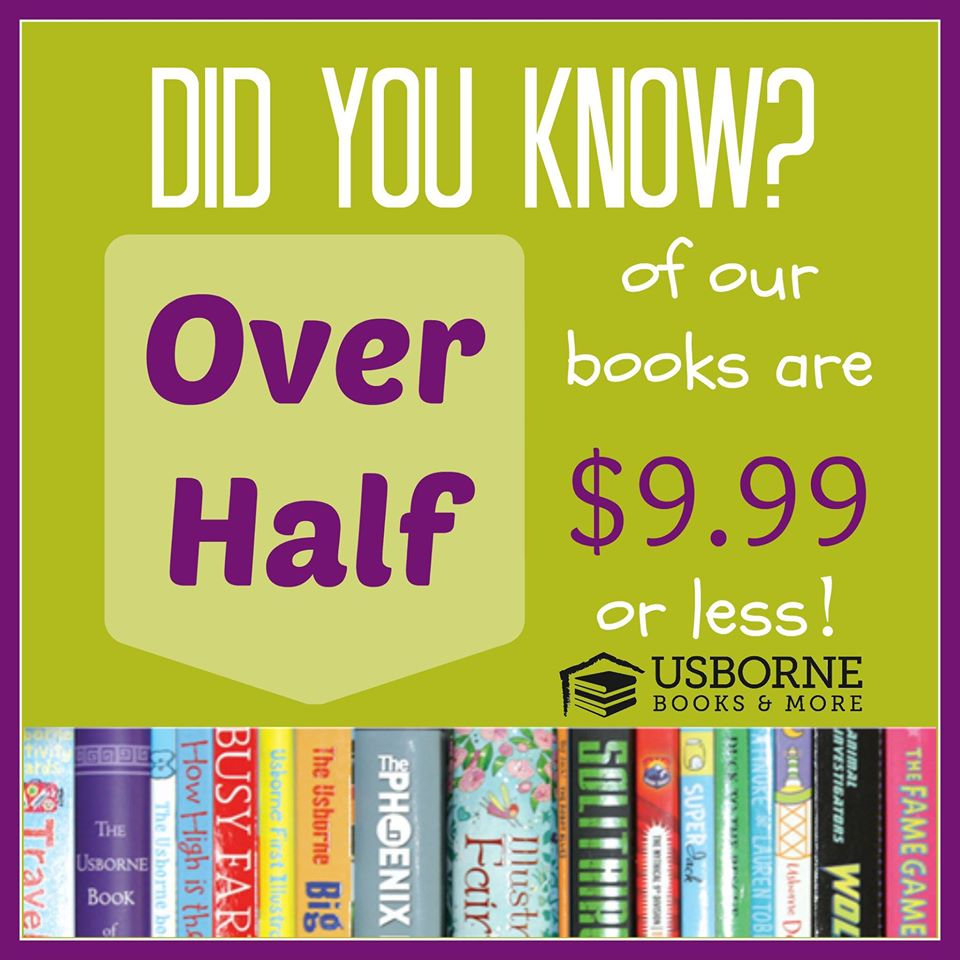 Usborne books more for Less is more boek